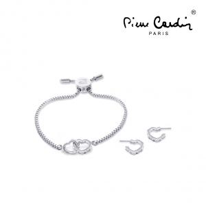 Conjunto Pulseira & 2 Brincos Pierre Cardin®