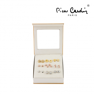 Conjunto Brincos Pierre Cardin® Rose | Gold | Silver