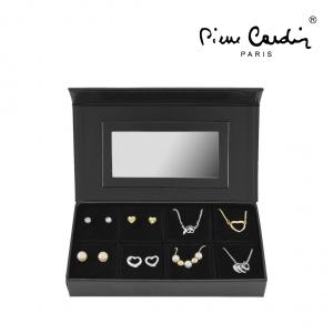 Conjunto 4 Colares & 8 Brincos Pierre Cardin® | Gold & Silver