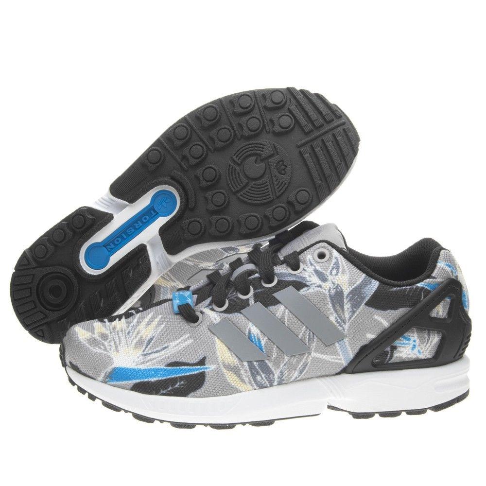 0945a1598 Adidas® Originals Shoes ZX FLUX Hawaiian Floral - You Like It