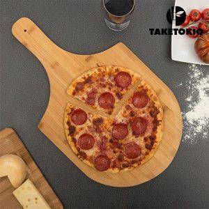 Tábua para Pizza em Bambu TakeTokio