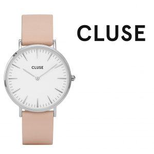 Relógio Cluse® La Bohème Silver White/Nude | 38mm