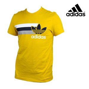 Adidas® T-Shirt Originals Logo Amarelo