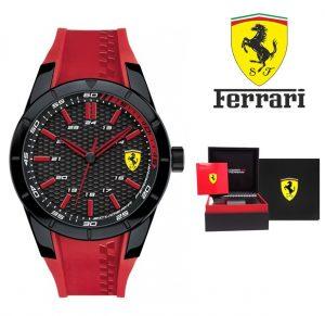 Relógio Ferrari®Scuderia Redrev Evo Red Silicone