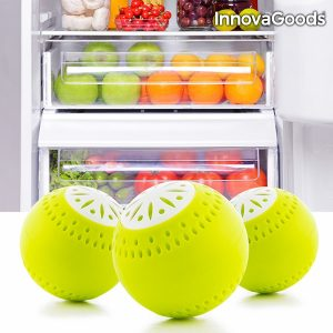 Ecobolas Para Frigorífico Kitchen Foodies | Pack 3