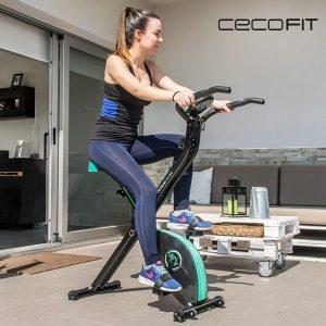 Bicicleta Estática Dobrável Cecofit X-Bik