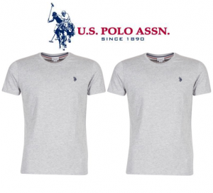 U.S. Polo ® Pack 2 T-Shirts Cinzentas
