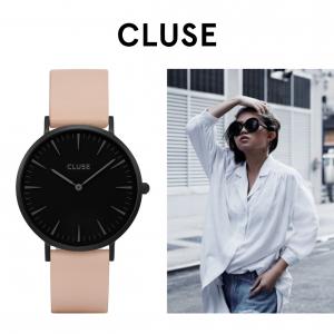 Relógio Cluse® La Bohème Full Black/Nude | 38MM