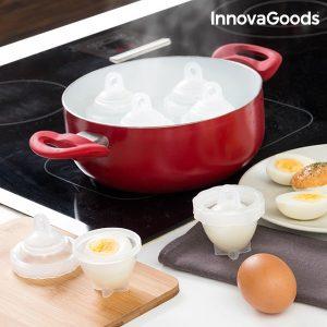 Conjunto de 7 Cozedores de Ovos InnovaGoods Kitchen Foodies