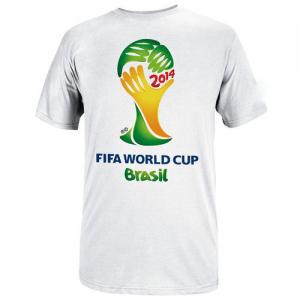 T-shirt Fifa World Cup Brasil | Disponível em Branco e em Bordô