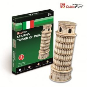Puzzle 3D Torre Inclinada
