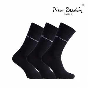 Pierre Cardin® Pack 3 Pares de Meias 39/42 | Preto