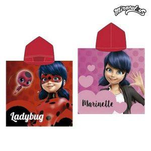 Poncho-Toalha com Capuz Ladybug | Produto Licenciado