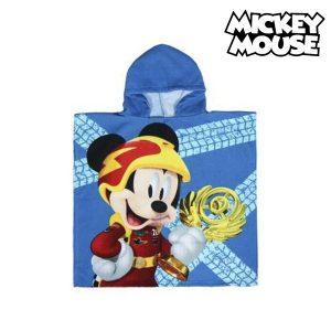 Poncho-Toalha com Capuz Mickey Mouse | Produto Licenciado