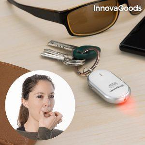 Porta-Chaves LED Com Localizador InnovaGoods Gadget Tech