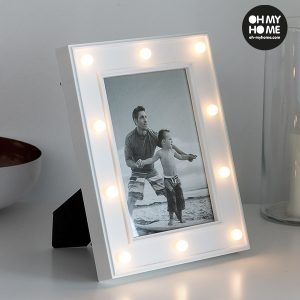 Porta-Fotos LED de Mesa Oh My Home