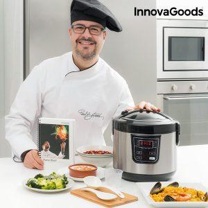 Robot de Cozinha Com Receitas Smart InnovaGoods Kitchen Chef