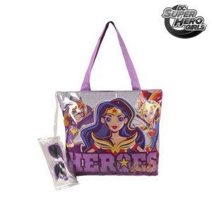 Saco de Praia DC Super Hero Girls 42374 | Produto Licenciado