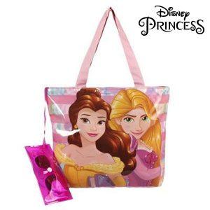 Saco de Praia e Óculos de Sol Princesses Disney 381 | Produto Licenciado