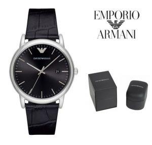 Relógio Emporio Armani® Luigi Black Dial