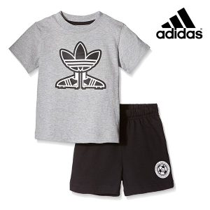 Adidas® Conjunto T-Shirt e Calção I Soccer Shoest Junior
