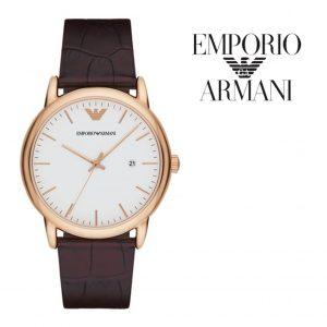 Relógio Emporio Armani® Luigi White Dial