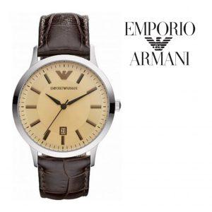 Relógio Emporio Armani® Renato Uni Brown