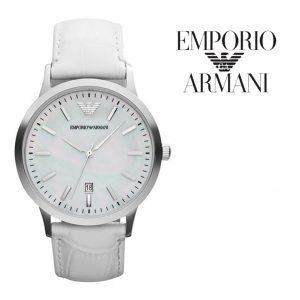 Relógio Emporio Armani® Renato Uni White
