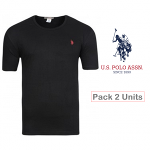 U.S. Polo ® Pack 2 T-Shirts Pretas