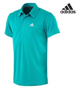 Adidas® Polo Performance Verde | Tecnologia Climalite+®