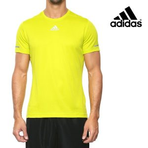 Adidas® T-Shirt Running Green Lime | Tecnologia Climalite®