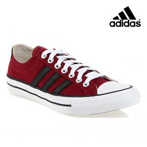 Adidas® Sapatilhas Vlneo 3 Stripes | Bordô