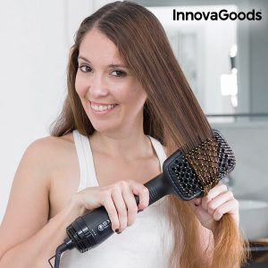 Wellness Beauté electric hair straightening and drying brush