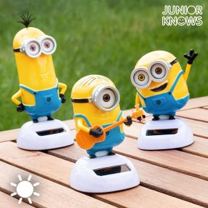 Minion Solar com Movimento Junior Knows