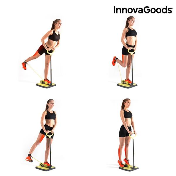 Plateforme de fitness pour fessiers et jambes avec guide d for Exercices pour interieur des cuisses