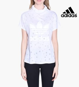 Adidas®T-Shirt Originals Collar Branco
