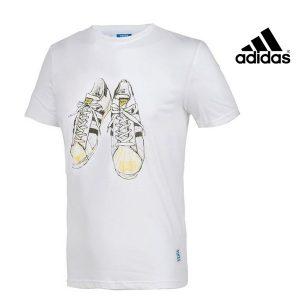 Adidas® T-Shirt Nigo Superstar 80s | 100% Algodão