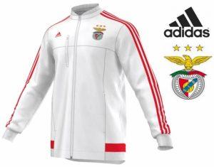 Adidas® Casaco Oficial Benfica | Branco