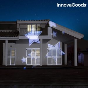 Projetor LED Decorativo Para Exterior Home Led