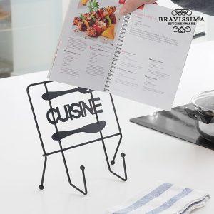 Suporte Para Livros de Receitas Cuisine Bravissima Kitchen