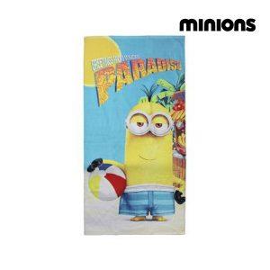 Toalha de Praia Minions 57129 | Produto Licenciado