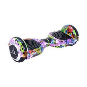Trotineta Elétrica Hoverboard Skate Flash K6 Bluetooth 500W Multicolor