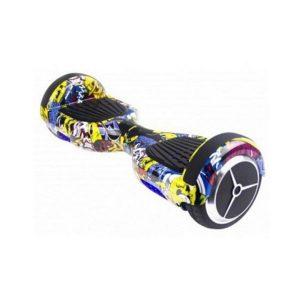 Trotineta Elétrica Hoverboard Skate Flash K6 Graffity 12 km/h Bluetooth
