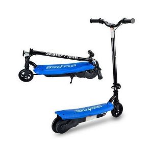 Trotineta Elétrica Skate Flash 12 km/h Azul