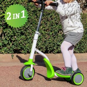 Trotinete-Triciclo Boost Scooter Junior 2 em 1 | 3 Rodas