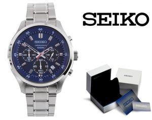 Reloj Seiko® Neo Sports Silver   SKS585P1