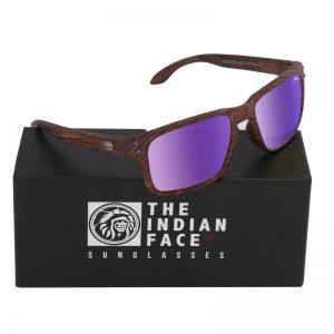 Óculos Freeride Spirit Style Lentes Roxas | 1 Par de Hastes Extra