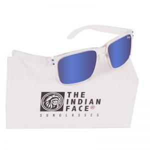 Óculos Crystal Freeride Spirit Style Lentes Azuis | 1 Par de Hastes Extra