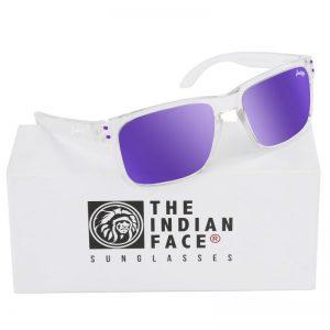 Óculos Crystal Freeride Spirit Style Lentes Roxas | 1 Par de Hastes Extra