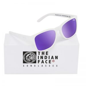 Óculos Free Spirit Style Lentes Roxas | 1 Par de Hastes Extra
